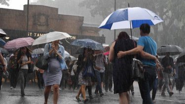 Rain, rain and more rain: Sydney in for another wet weekend.