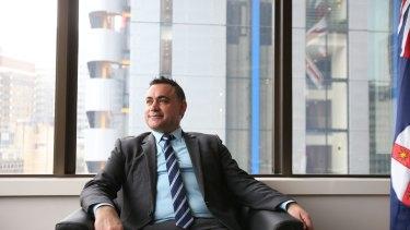 NSW Skills Minister John Barilaro