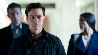 Slick and charismatic: James McAvoy.