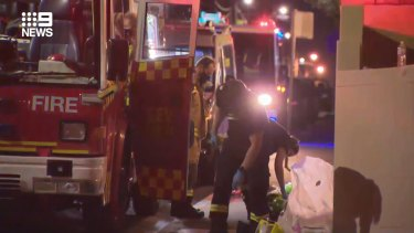Police are investigating after a body was found following a unit fire in Drummoyne in Sydney's west.