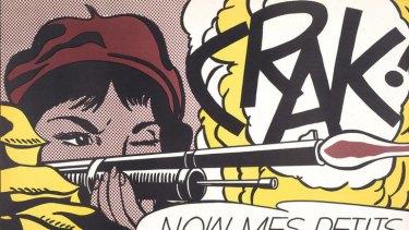 Roy Lichtenstein's Crak! 1963-64.