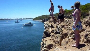 Blackwall Reach has been a popular Cliff jumping spot for generations.