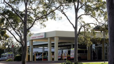 Wyong Hospital pictured in 2009, the period where Mr Acharya was working for NSW Health.