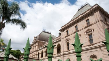The state opposition will be housed in a different part of the parliamentary precinct than in previous terms.