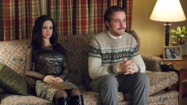 Ryan Gosling in the film 'Lars and the Real Girl'.