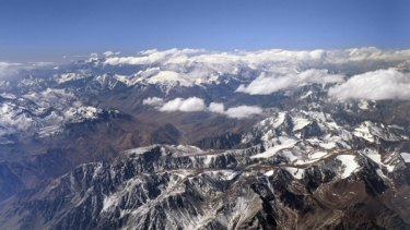 Anecdotal evidence … the report considered ice melting in the Andes.