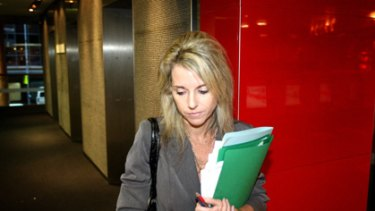 Moonlighting... Tonette Kelly has been accused of running a private legal business from inside NSW Maritime.