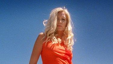 In her heyday ... Nadja Auermann in Melbourne for 2001 fashion week.
