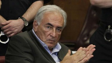 Formally charged with sexual assault ... former IMF chief Dominique Strauss-Kahn.