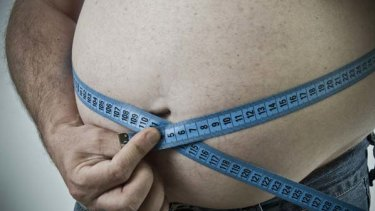 Bulging waistline ... A British MP says we should call obese people fat.