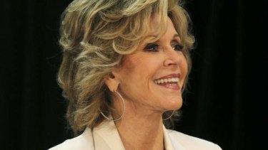 Academy Award-winning actress and fitness icon Jane Fonda.