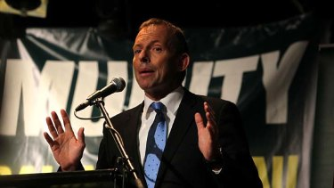 Federal Opposition Leader Tony Abbott ... has vowed to wind back changes to gambling laws if he wins office.