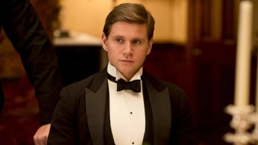 Allen Leech as Tom Branson, the former chauffer whose relationship with Lady Sybil socially elevates him.