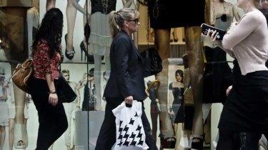 David Jones wants more shoppers.