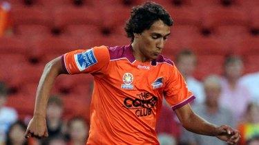 Rising star ... Adam Sarota, who now plays in the Dutch league.