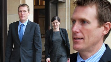 Spring in his step? Treasurer Christian Porter confirms he's leaving state politics for a shot at the national game.
