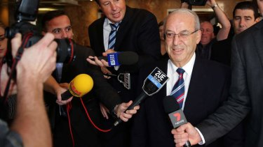 Found to be corrupt by the ICAC: Eddie Obeid.