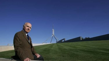 Lasting design ... the architect of Parliament House, Romaldo Giurgola, 91, urges the government to plan ahead for Parliament's preservation.