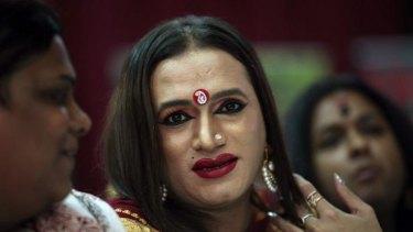 Transgender activist Laxmi Narayan Tripathi: a  great step towards ending discrimination.