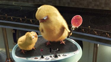 Cute chick: The Easter-themed Hop is fun, if unexceptional holiday entertainment.