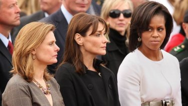 Sophia Loren's side-eye protege, Michelle Obama, throwing shade since 2008.
