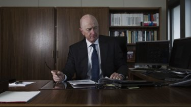 A matter of timing: RBA governor Glenn Stevens.