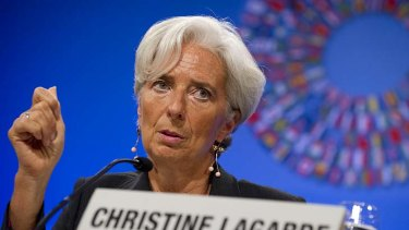 """The current economic situation is entering a dangerous phase"" ... IMF head Christine Lagarde."