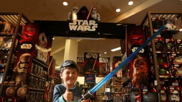 Disney's Force Friday sale in 2015 managed to drive sales of Star Wars toys.