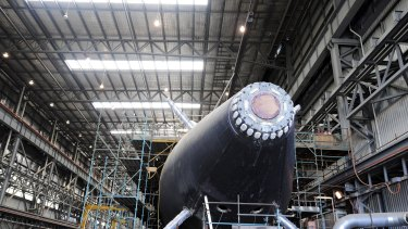 The Australian Submarine Corporation could be purchased off the government should ThyssenKrupp win Australia's submarine contract.