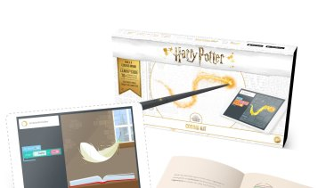The Harry Potter Kano Coding Kit offers  hundreds of creative sounds, effects and challenges.