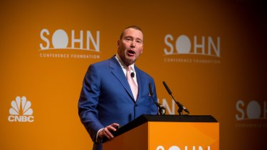 Jeffrey Gundlach, chief executive officer and chief investment officer of DoubleLine Capital LP.