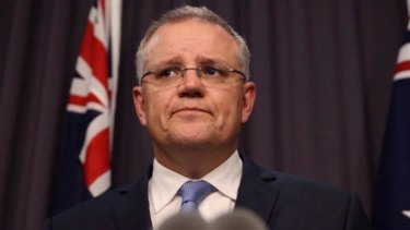 Keeping mum: Scott Morrison.