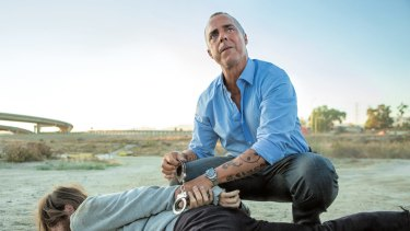 Titus Welliver plays homicide detective Harry Bosch in the TV series Bosch, adapted from Connelly's novels.