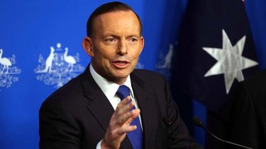 "Terrorism threat ""hasn't changed"": Tony Abbott."