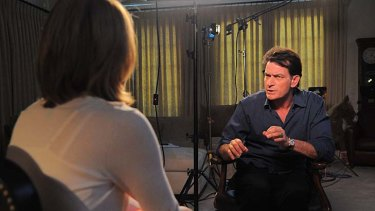 On the offfensive: actor Charlie Sheen has now been officially sacked from Two and a Half Men.