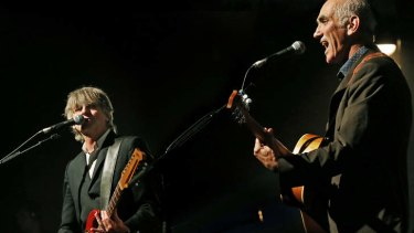 Comfort food, but more besides ... Neil Finn teams up with Paul Kelly.