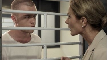 Nathan Wilson as Will McIntyre and Erin Connor as Julie Nile in Mack Lindon's autobiographical film <i>Rise</i>.
