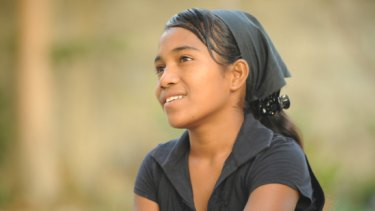 Josefina Ba Kita, 15, was orphaned when her mother was killed by an ISF vehicle in Dili.