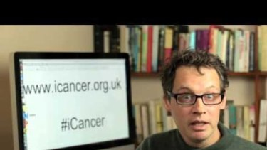 Alexander Masters helped to launch the iCancer campaign initially seeking a cure for his friend Dido Davies.
