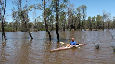 John Pettigrew on Loch Garry, near Shepparton, will be kept from entering the wetlands at certain times during the three-month hunting season.