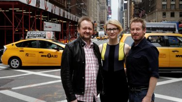 Andrew Upton, Cate Blanchett and Richard Roxburgh have brought the Sydney Theatre Company's production of Chekhov play <i>Uncle Vanya</i> to New York City.