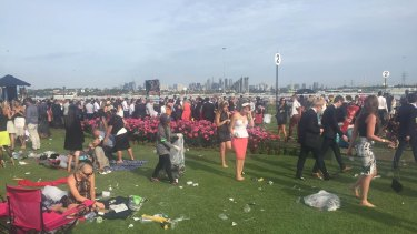 Clean up at Flemington.