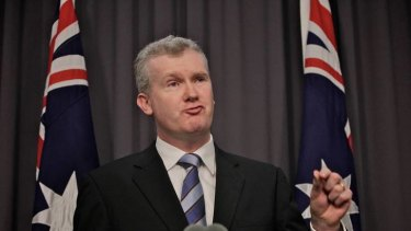 ''I don't want a shambolic joke'' ...  Environment Minister Tony Burke announces the suspension of the $6.4bn project.