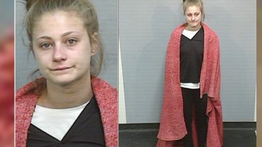 The images of Amy Sharp released by NSW police last week.