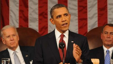 US President Barack Obama delivers his State of the Union address with a defacto bid for re-election and a call for the wealthy to pay more taxes.