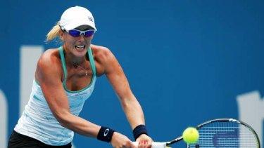 Proud Australian ... the third-ranked Anastasia Rodionova.