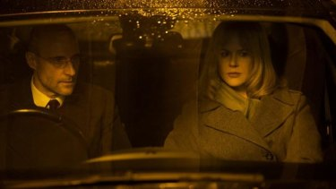 Alternative narrative: Nicole Kidman and Mark Strong in Before I Go to Sleep.