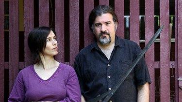 Anne and Rob Pensalfini are the project manager and lead facilitator of the Borallon Prison production of Macbeth.