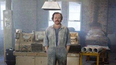 Actor Anthony Hayes as Bernie Banton in Devil's Dust.