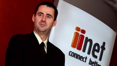 iinet's Michael Malone bought TransACT for a lot less than it cost to build it.